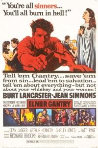 Elmer Gantry Film Poster