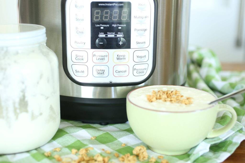 yogurt in the instant pot