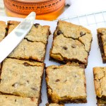 Brown Butter Bourbon Chocolate Blondies | www.theeverykitchen.com