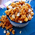 You'll be eating Smoked Paprika Caramel Corn by the handful. This recipe has some freakin' good homemade buttery, sweet caramel flavors happening. | theeverykitchen.com