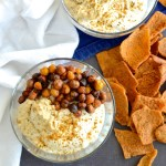 Crispy Chickpea and Greek Yogurt Protein Bowls are light and filling at the same time. This recipe has tons of flavor and crispy plus creamy textures. Beware -- you may find yourself craving these creamy and crispy bowls at all times of day. | theeverykitchen.com