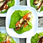 Cajun Chicken + Grapefruit Lettuce Cups