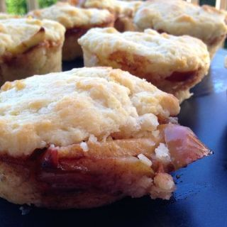 OMG EAT ME NOW. Southern Style Apple Pie Biscuits. Get the recipe at www.theeverykitchen.com