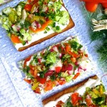 Cool Summer Veggie Pizza