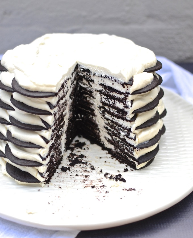 Magnolia Bakery's Chocolate Wafer Icebox Cake