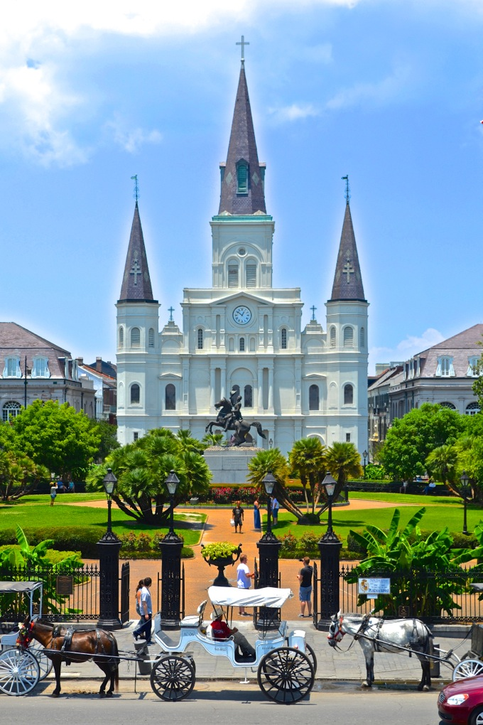 Saint Louis Cathedral, New Orleans   Danielle Does New Orleans!   theeverykitchen.com