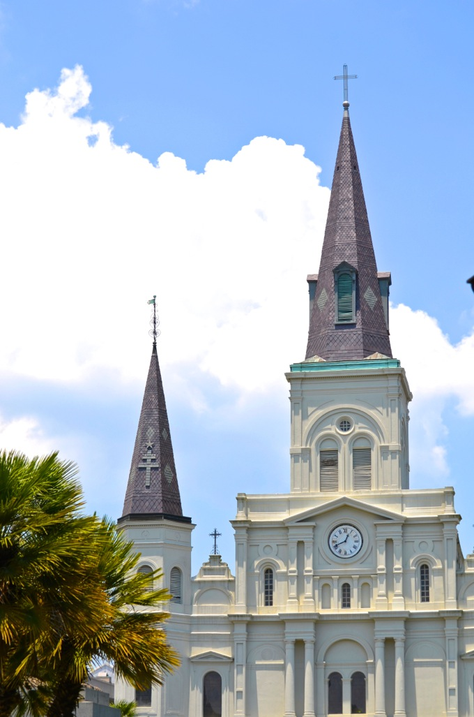 Saint Louis Cathedral, New Orleans | Danielle Does New Orleans! | theeverykitchen.com