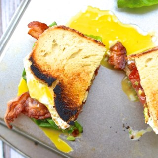 The Ultimate Sandwich, The BALTE: Bacon, Avocado, Lettuce, Tomato, with a runny Egg | www.theeverykitchen.com