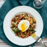 Kale and Sweet Potato Hash with Spicy Sausage | www.theeverykitchen.com