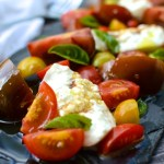 Simple Tomato & Burrata Salad