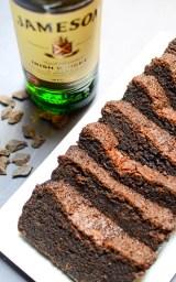 Irish Coffee Chocolate Loaf Cake | www.theeverykitchen.com