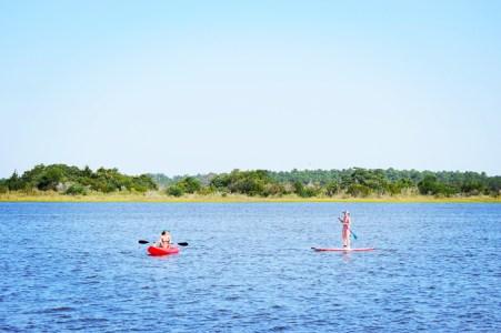 water sports on the intercoastal waterway