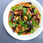Mussels in Red Coconut Curry and Thailand Part III – Bangkok
