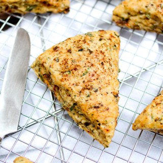 Sun-Dried Tomato and Olive Ricotta Scones