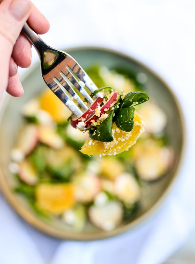 Golden Beet Couscous Salad | www.theeverykitchen.com