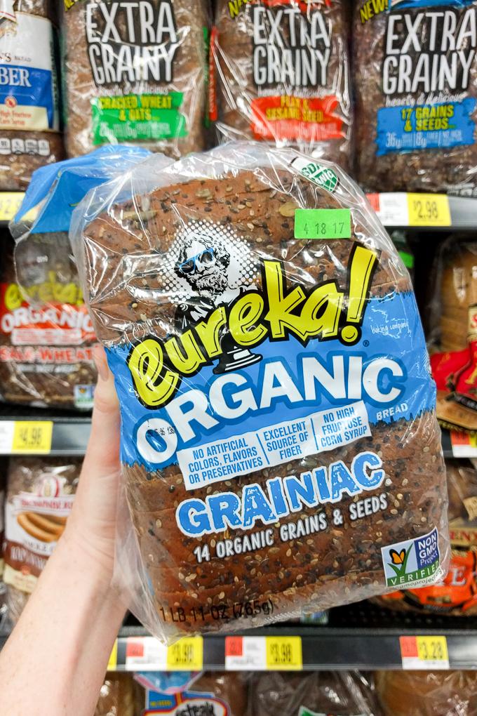 Eureka Organic Grainiac Sliced Bread 29 Healthy Groceries You Should Be Buying At Walmart