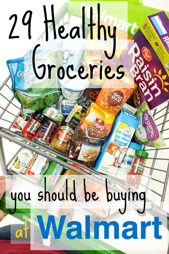 29 Healthy Groceries You Should Be Buying At Walmart The Every Kitchen