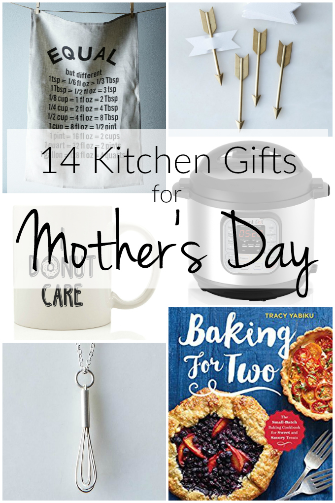 Whether her kitchen is functional and a bit crazy or a sparkly place of solitude -- I promise, her gift is on our list of 14 Kitchen Gifts for Mother's Day. | theeverykitchen.com
