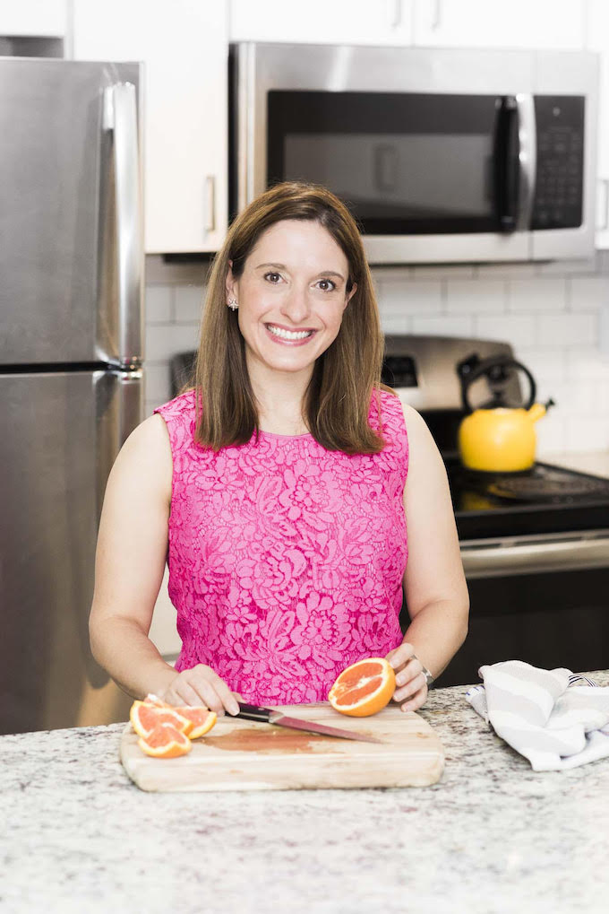 Katie of One Hungry Bunny in her kitchen | theeverykitchen.com