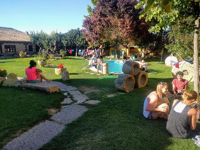An oasis of an albergue in Boadilla del Camino, Camino de Santiago | theeverykitchen.com