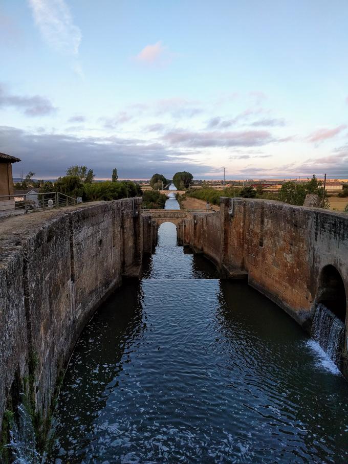 Canal de Castilla, Frómista, Spain | theeverykitchen.com