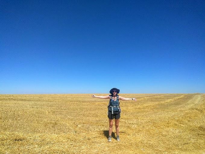 The meseta, Camino de Santiago | theeverykitchen.com