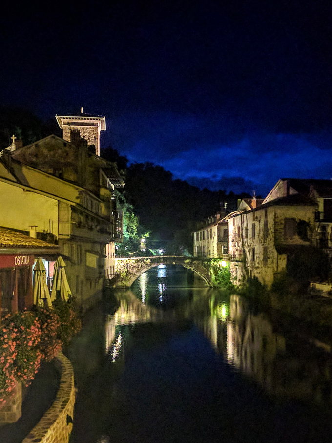 Saint Jean Pied-de-Port, France, the traditional beginning of the Camino Frances. | theeverykitchen.com