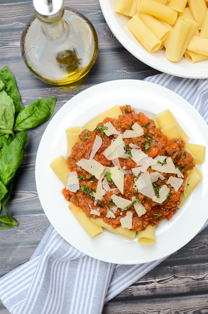 This authentic recipe for Ragù alla Bolognese is well worth the hour it takes to make. You'll have plenty for a family dinner, plus extra for the freezer. | theeverykitchen.com