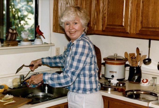 My Nana circa 1988 | theeverykitchen.com