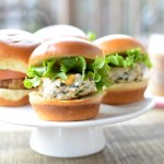 Lemon Feta Chicken Sliders