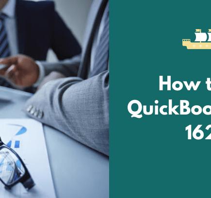 How to Fix QuickBooks Error 1625