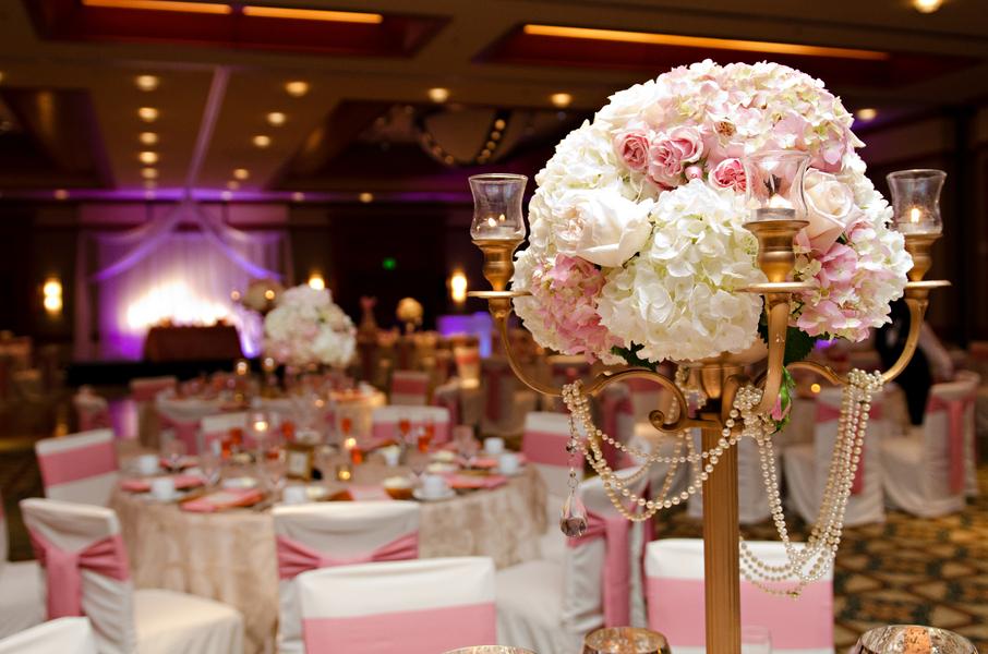 Arrangement Wedding Reception Tables