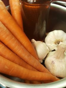 Garlic-Honey Carrot Recipe