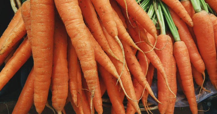 Cooking carrots – good for you!