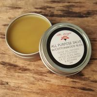 all purpose salve with cotttonwood buds