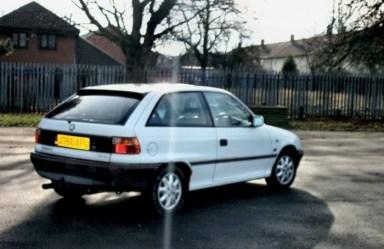 My Vauxhall Astra Si 1.4i (3)