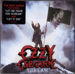 Ozzy Osbourne - Scream - CD Cover