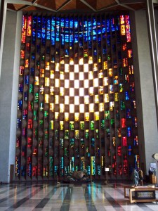 Coventry Cathedral Stained Glass (Copyright Evil Jam)