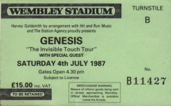 Genesis wembley 4th July 1987