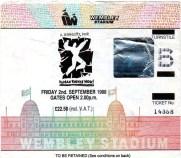 PG 2nd Sept 1988 Wembley 1988 R Wilson