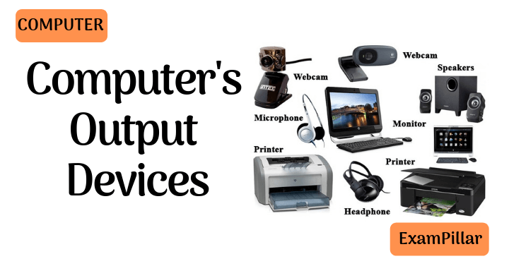 Computer's Output Devices