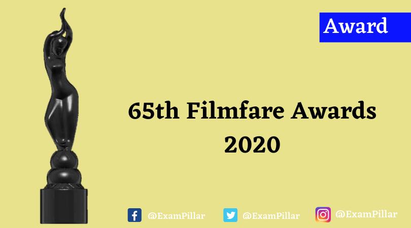 65th Filmfare Awards 2020
