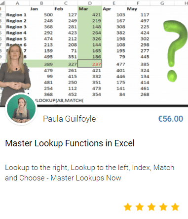 master lookup functions in excel