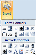Up and Running with Excel Form Control