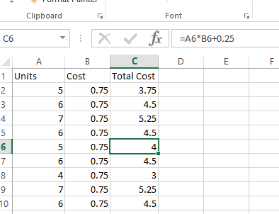Find Hard coded values in Excel Formulas