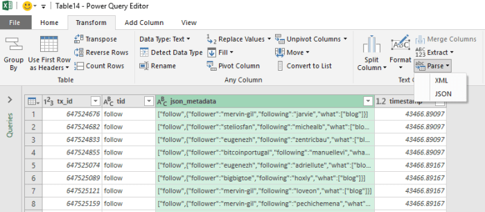 How to Parse Custom JSON Data using Excel - The Excel Club