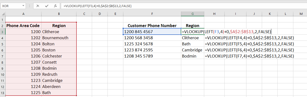 An introduction to using Vlookups