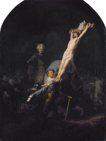 767px-Raising_of_the_Cross,_by_Rembrandt_van_Rijn
