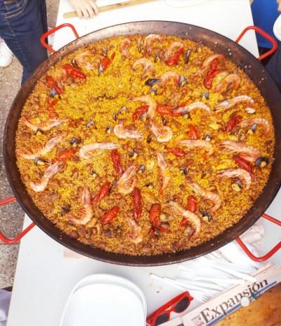 spanish dairy free paella photo
