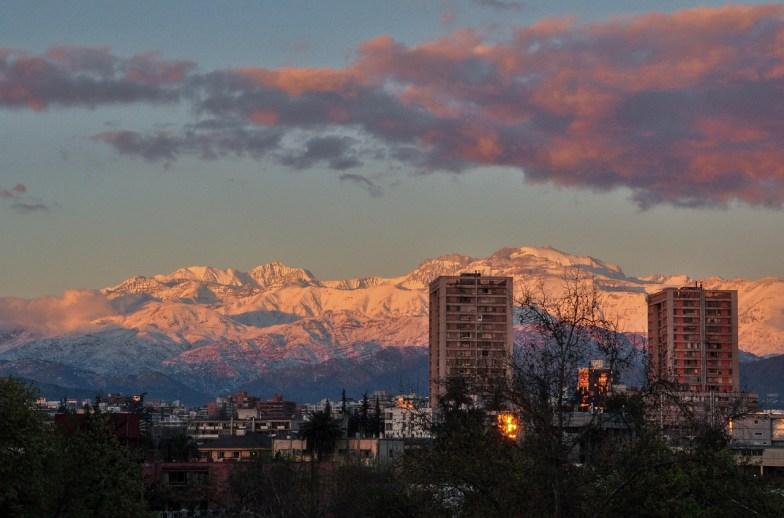 pollution Santiago photo